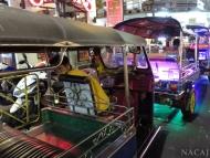 Riksháá. Bangkok, Thajsko