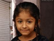 Děvče. Udaipur, Rajasthan, IIndie