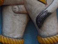 Slon - detail. Udaipur, Rajasthan, IIndie