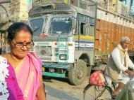 Ulice ve Varanasi, Uttar Prades