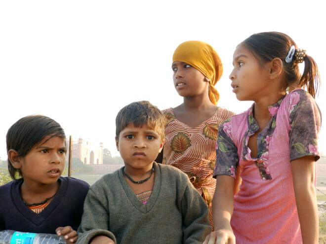Fotografie: Indové Indky a cestovatelé Indie