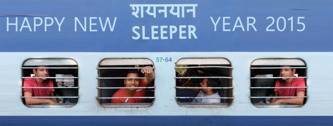 Indický vlak Sleeper S3