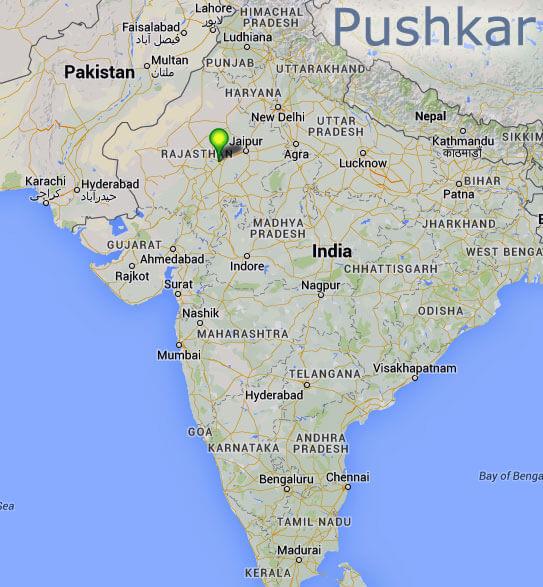 Pushkar Rajastan Indie