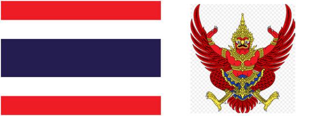 Thajsko - vlajka a znak