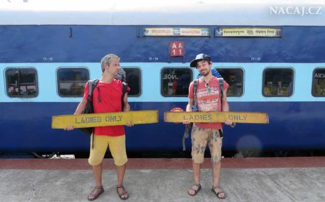 Indické vlaky - jízdenky na vlak v Indii