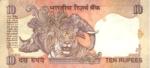 Indická Rupie - Rs 10 bankovka