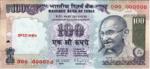 Indická Rupie - Rs 100 bankovka