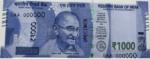 Indická Rupie - Rs 1000 bankovka
