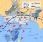 Jihozápadní monzun v Indii