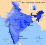 Monzuny a deště v Indii
