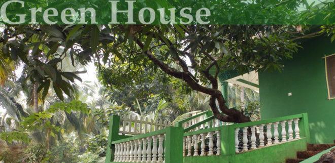 Nabídka ubytování v Goa - Green House v Agondě.