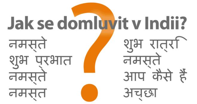 Jak se domluvit v INDII