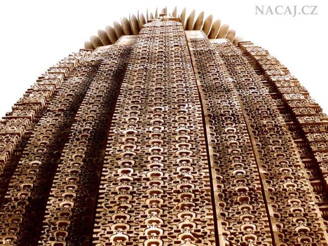 Chrámy v Khajuraho. INDIE